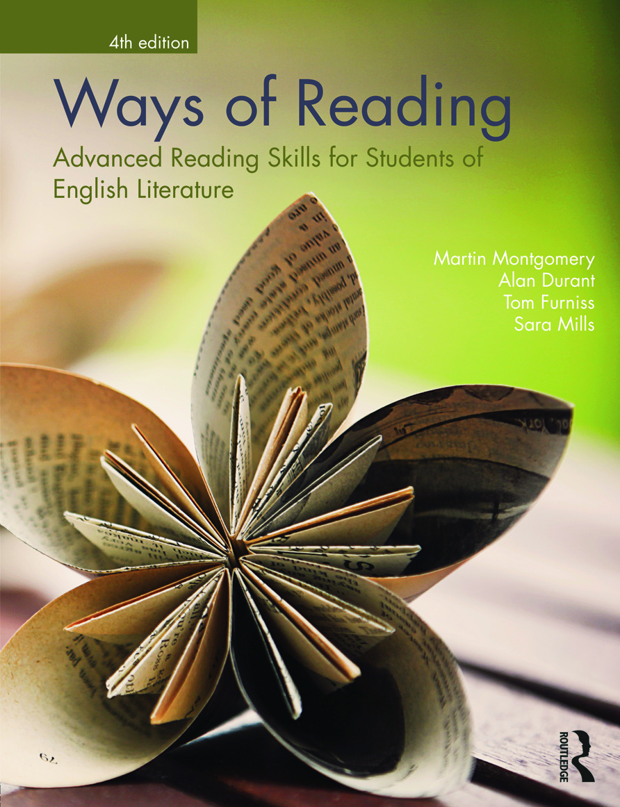 Ways of Reading: Advanced Reading Skills for Students of English Literature, 4th Edition (Paperback) book cover