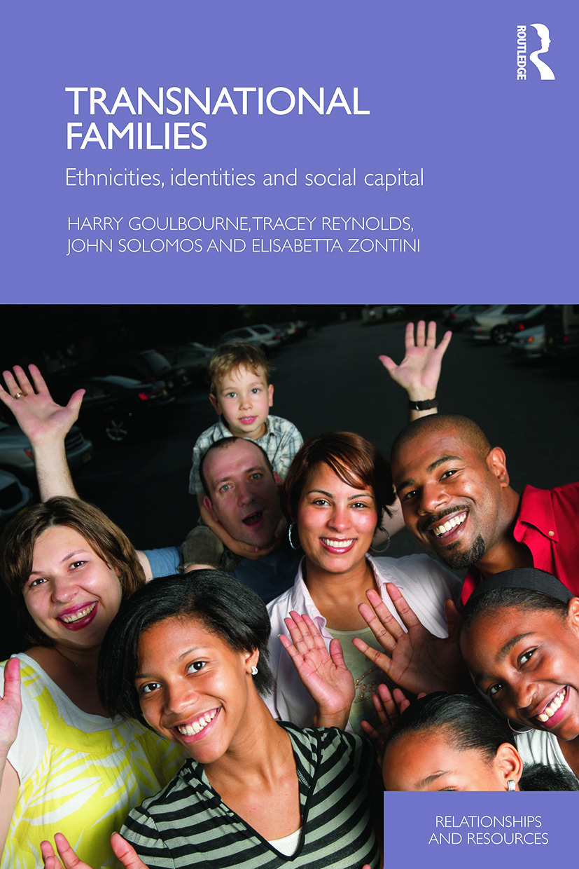 Transnational Families: Ethnicities, Identities and Social Capital (Paperback) book cover