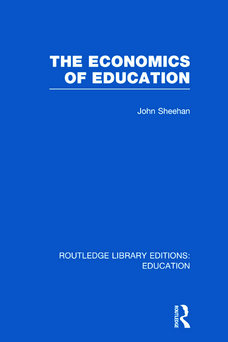 The Economics of Education (Hardback) book cover