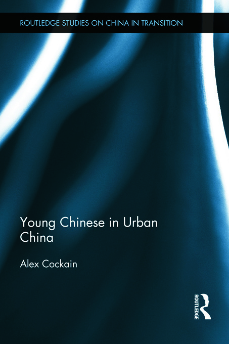 Young Chinese in Urban China (Hardback) book cover