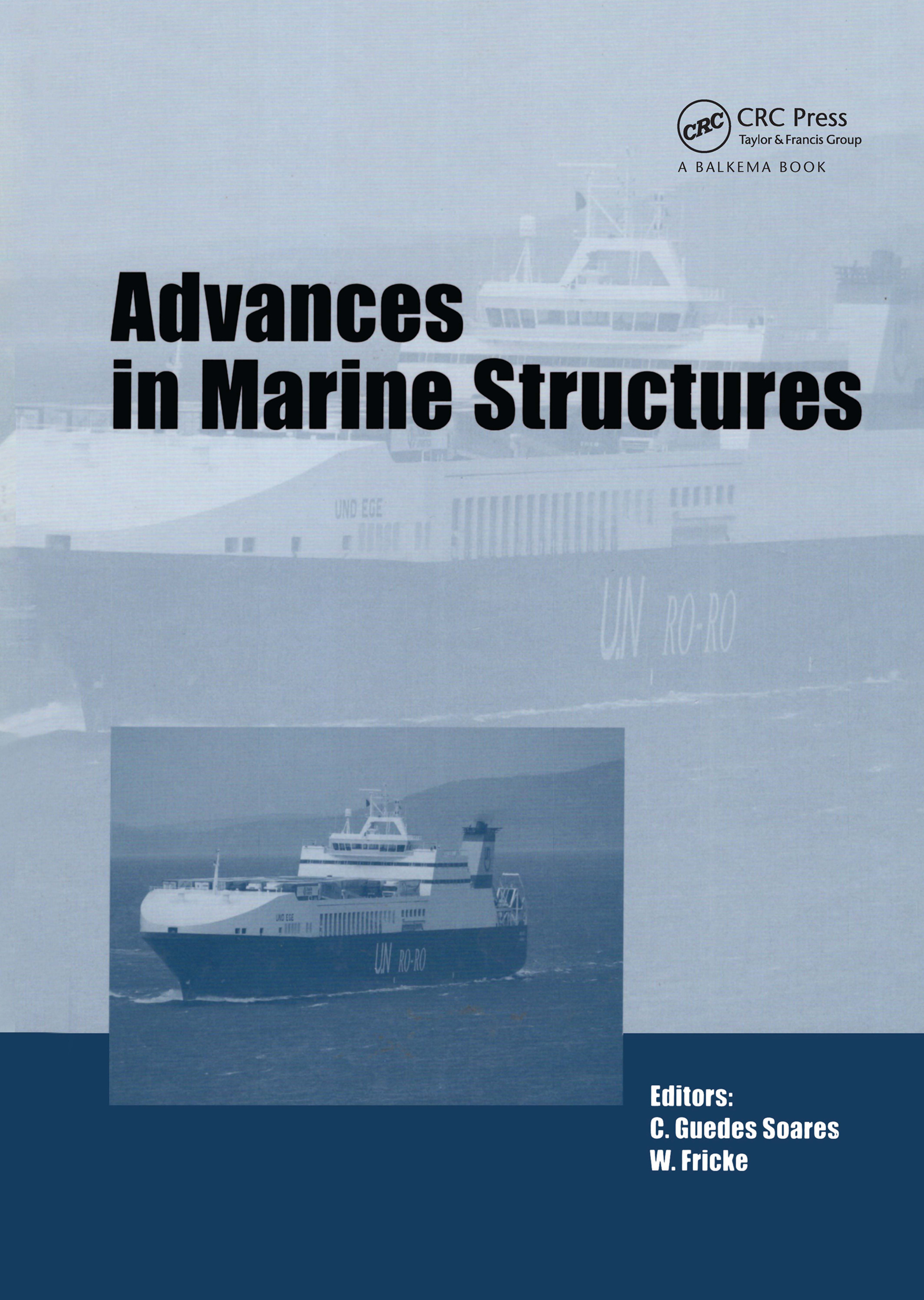 Advances in Marine Structures: 1st Edition (Pack - Book and CD) book cover