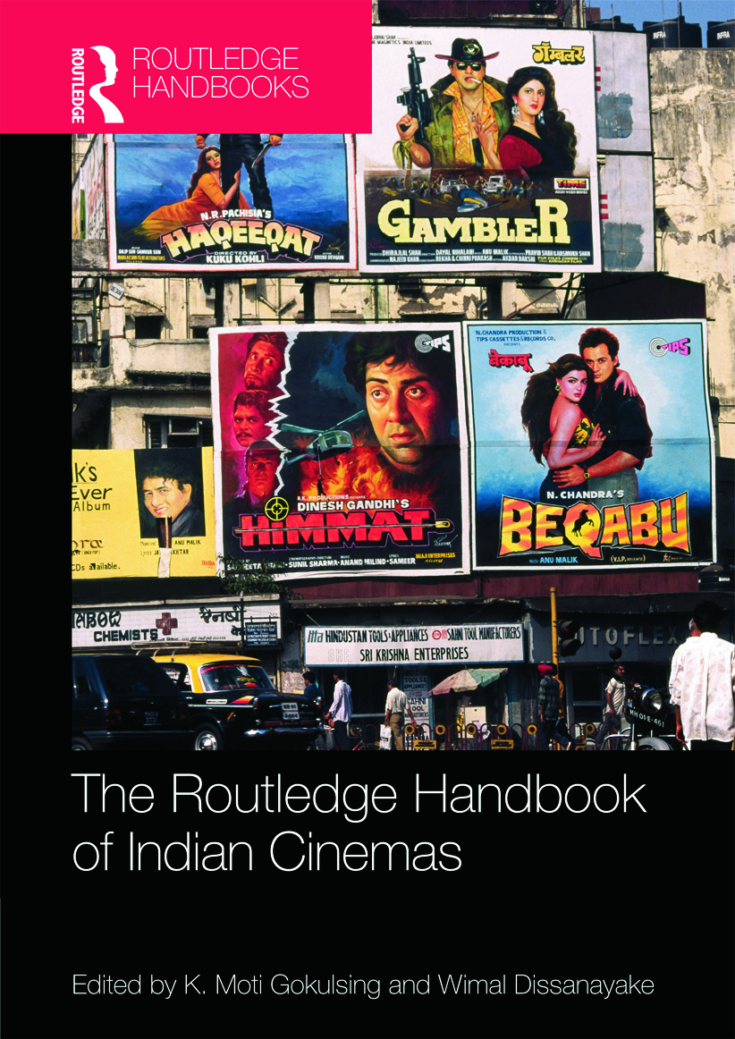 Routledge Handbook of Indian Cinemas: 1st Edition (Hardback) book cover