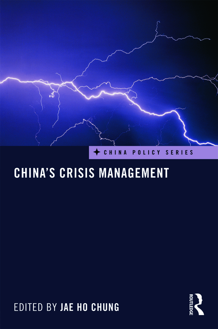 China's Crisis Management (Hardback) book cover