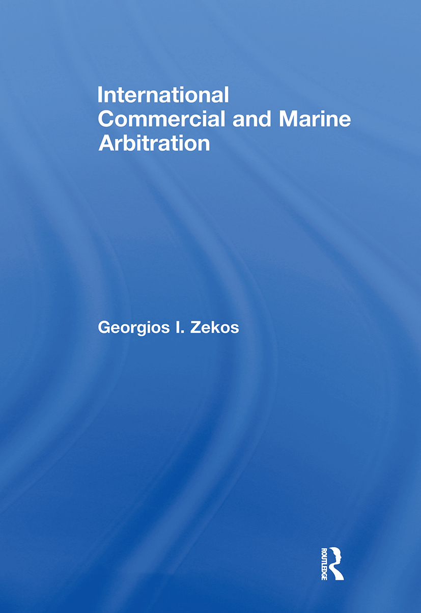 International Commercial and Marine Arbitration: 1st Edition (Paperback) book cover