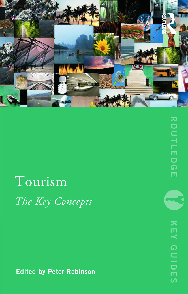 Tourism: The Key Concepts: 1st Edition (Paperback) book cover
