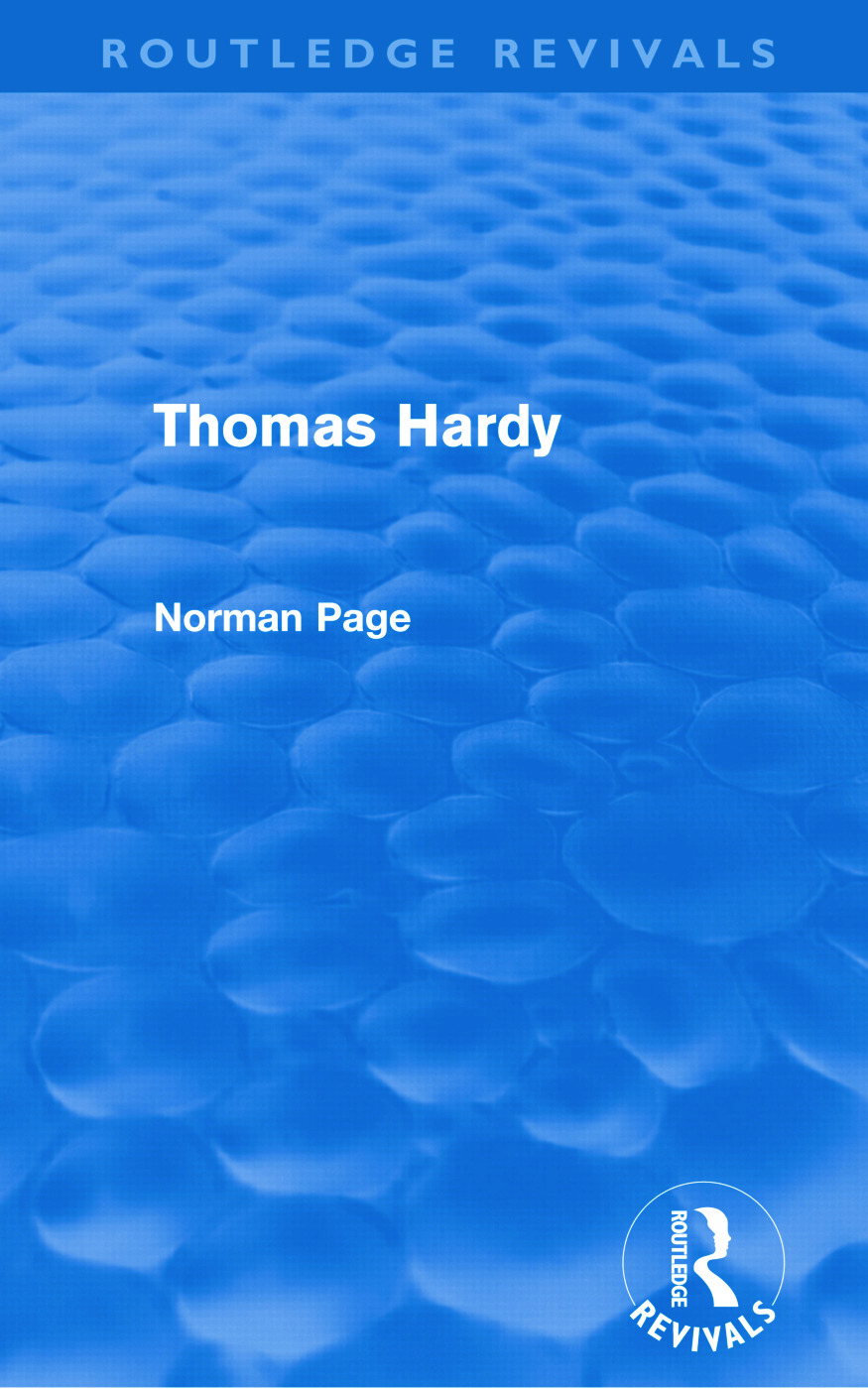 Thomas Hardy (Routledge Revivals) (Paperback) book cover