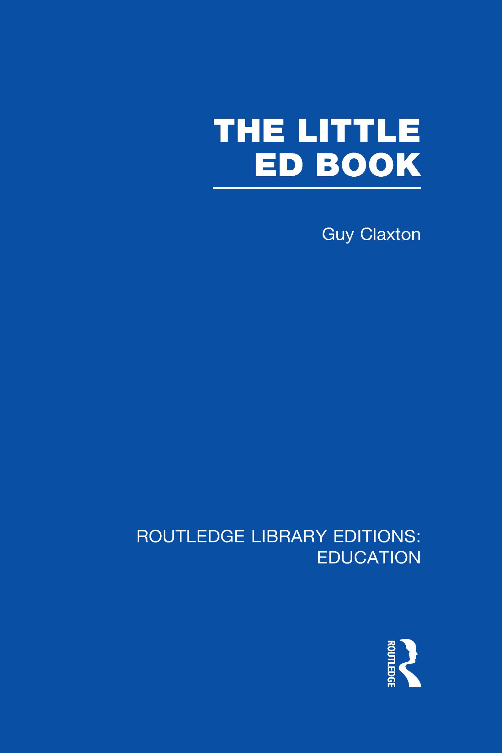 The Little Ed Book (Hardback) book cover