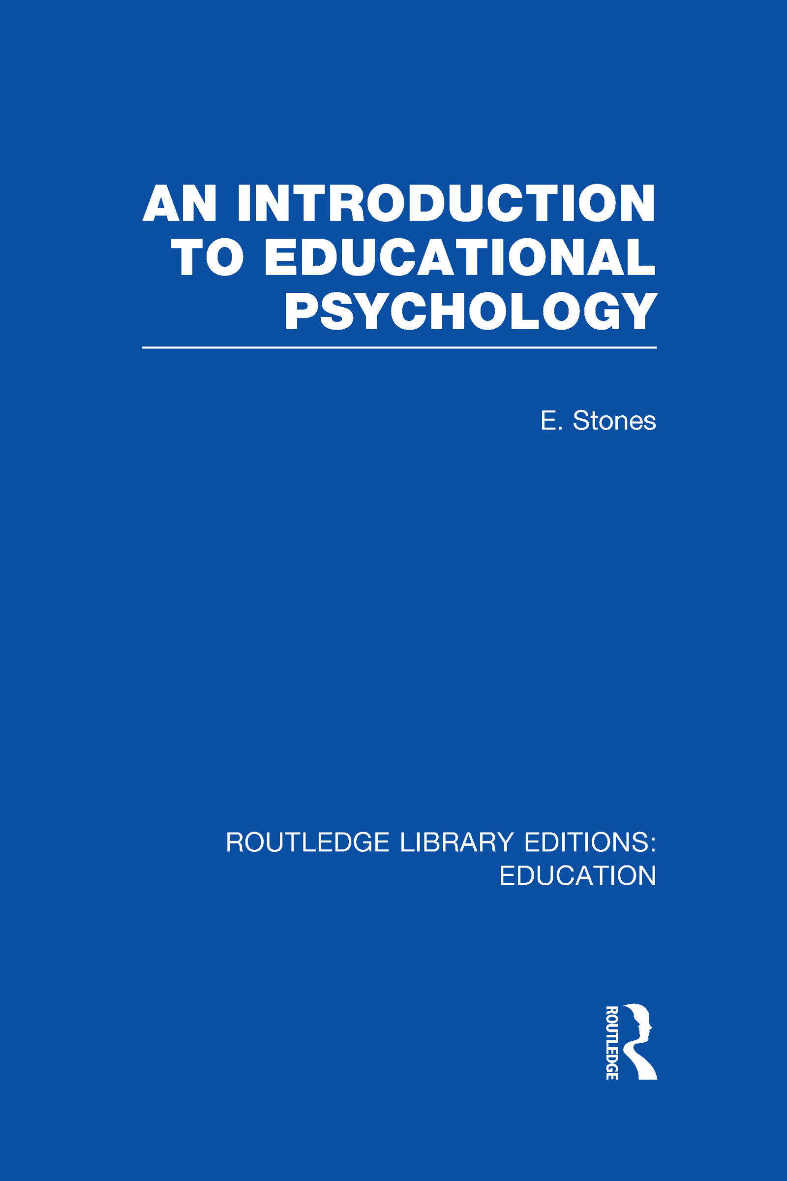 An Introduction to Educational Psychology (Hardback) book cover