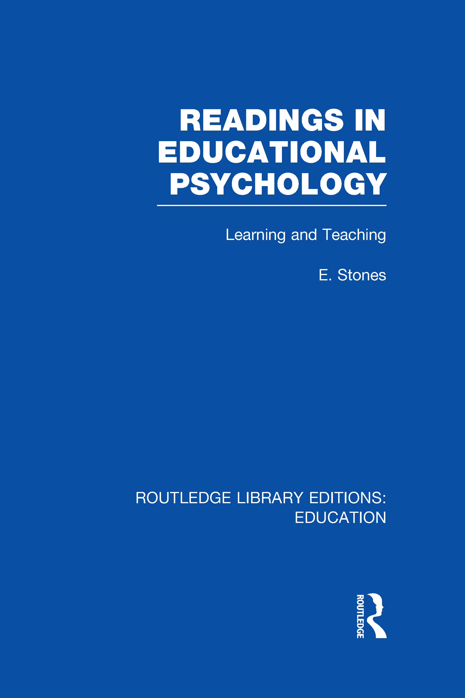 Readings in Educational Psychology (Hardback) book cover