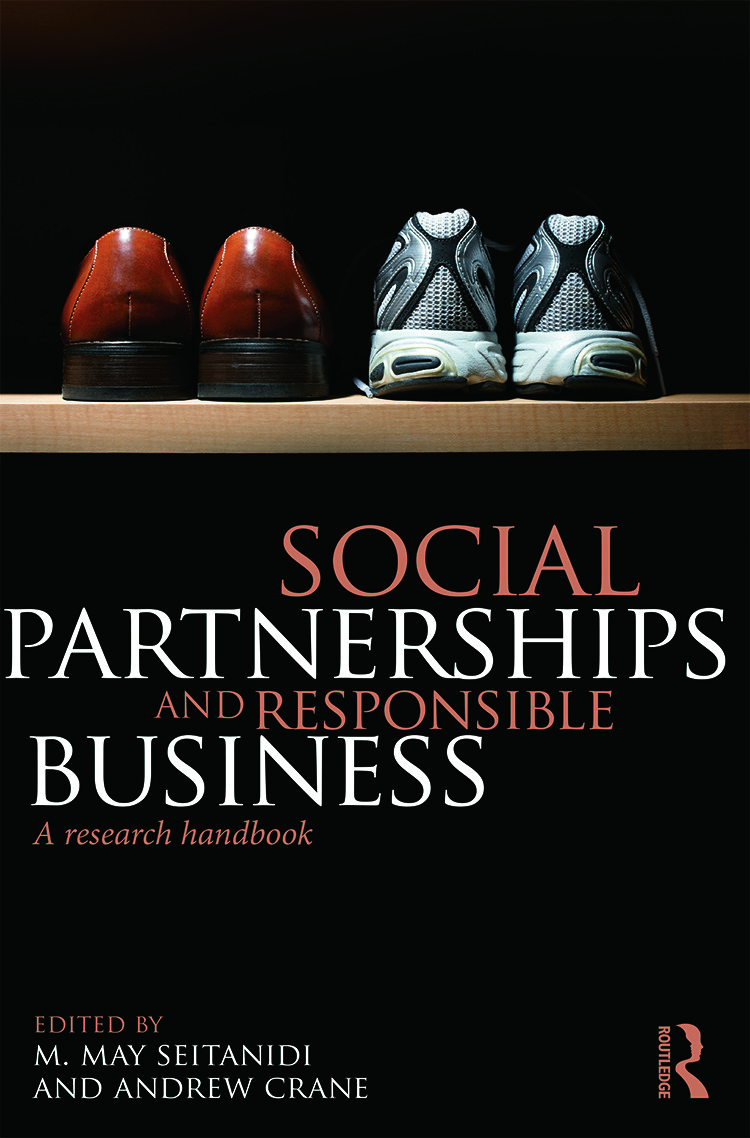 Social Partnerships and Responsible Business: A Research Handbook, 1st Edition (Hardback) book cover