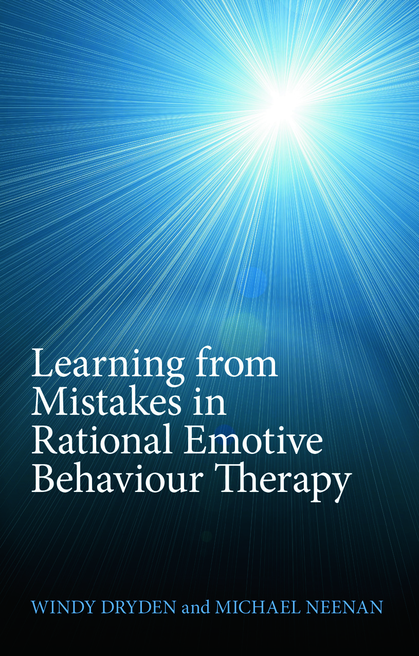 Learning from Mistakes in Rational Emotive Behaviour Therapy (Paperback) book cover