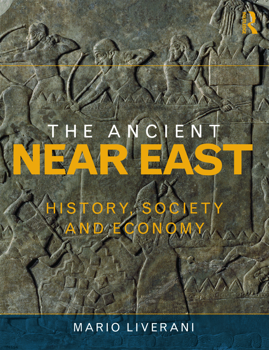 The Ancient Near East: History, Society and Economy (Paperback) book cover