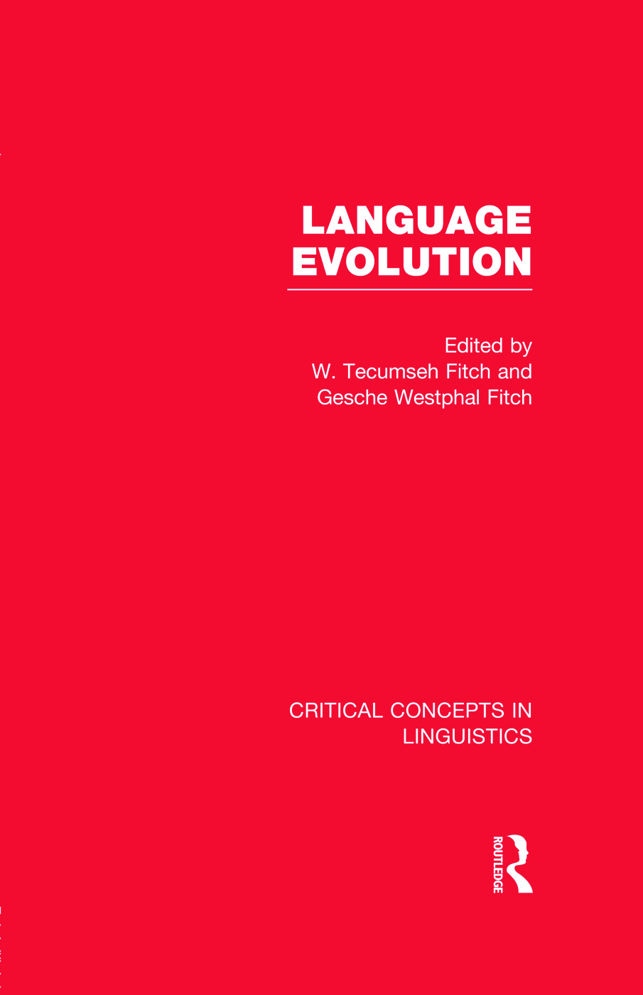 Language Evolution (Hardback) book cover