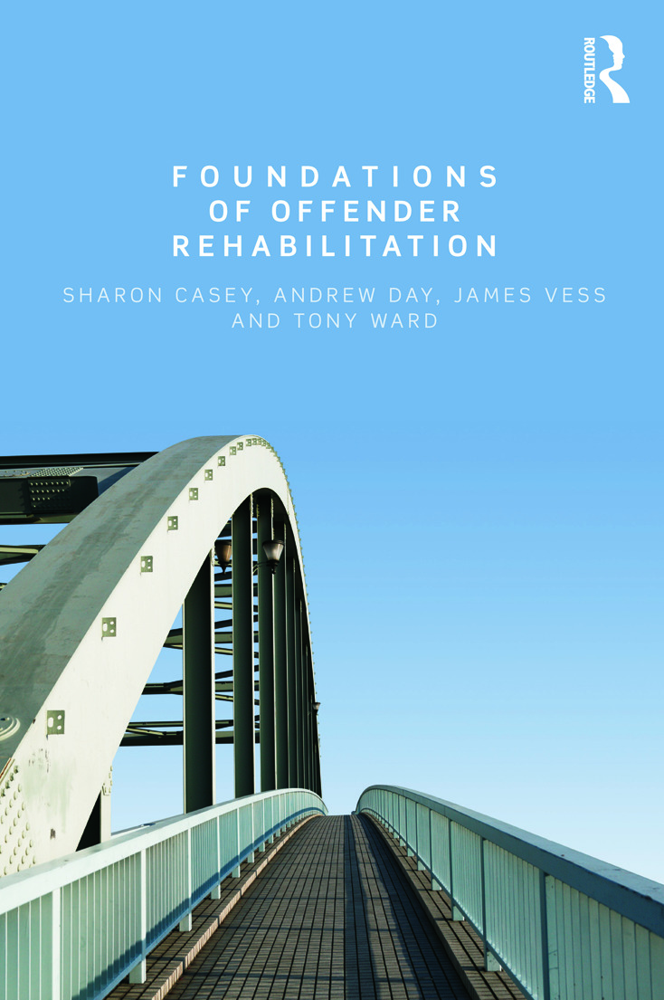 Foundations of Offender Rehabilitation (Paperback) book cover