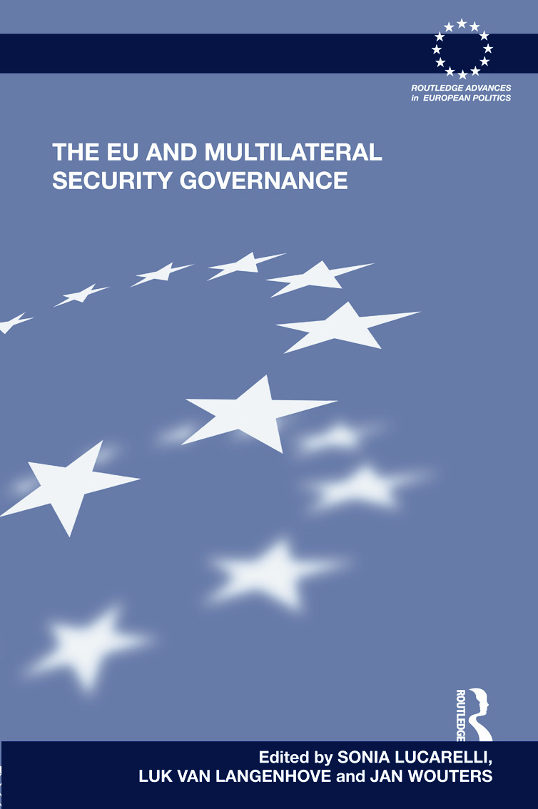 The EU and Multilateral Security Governance (Hardback) book cover