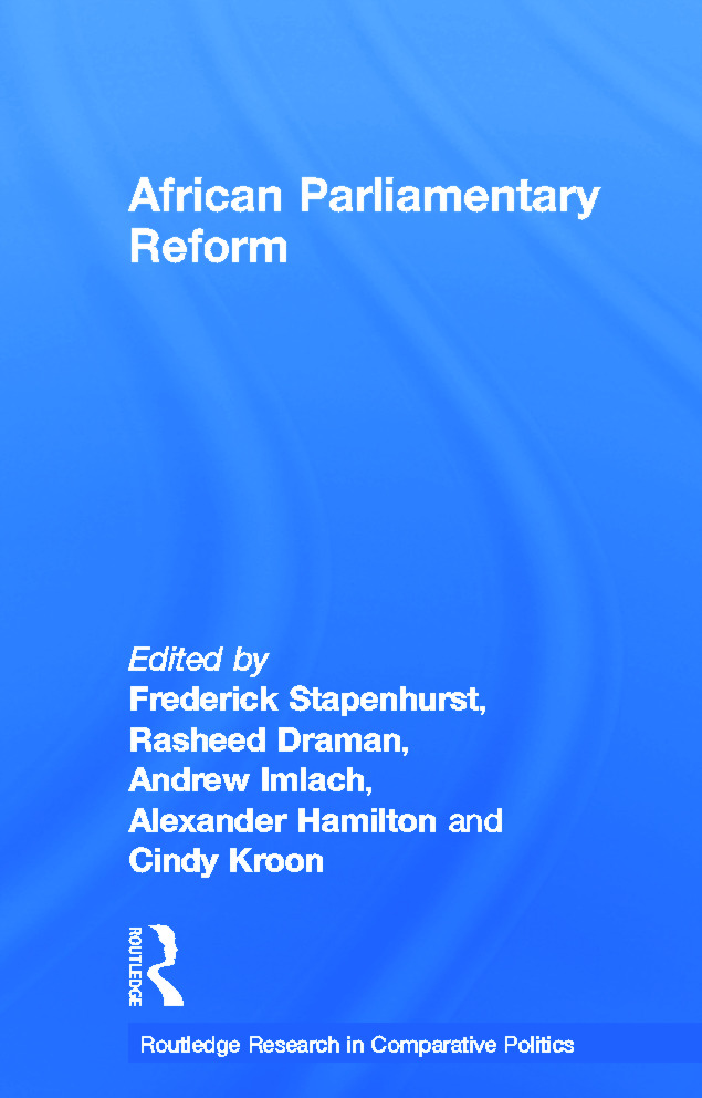 African Parliamentary Reform: 1st Edition (Paperback) book cover