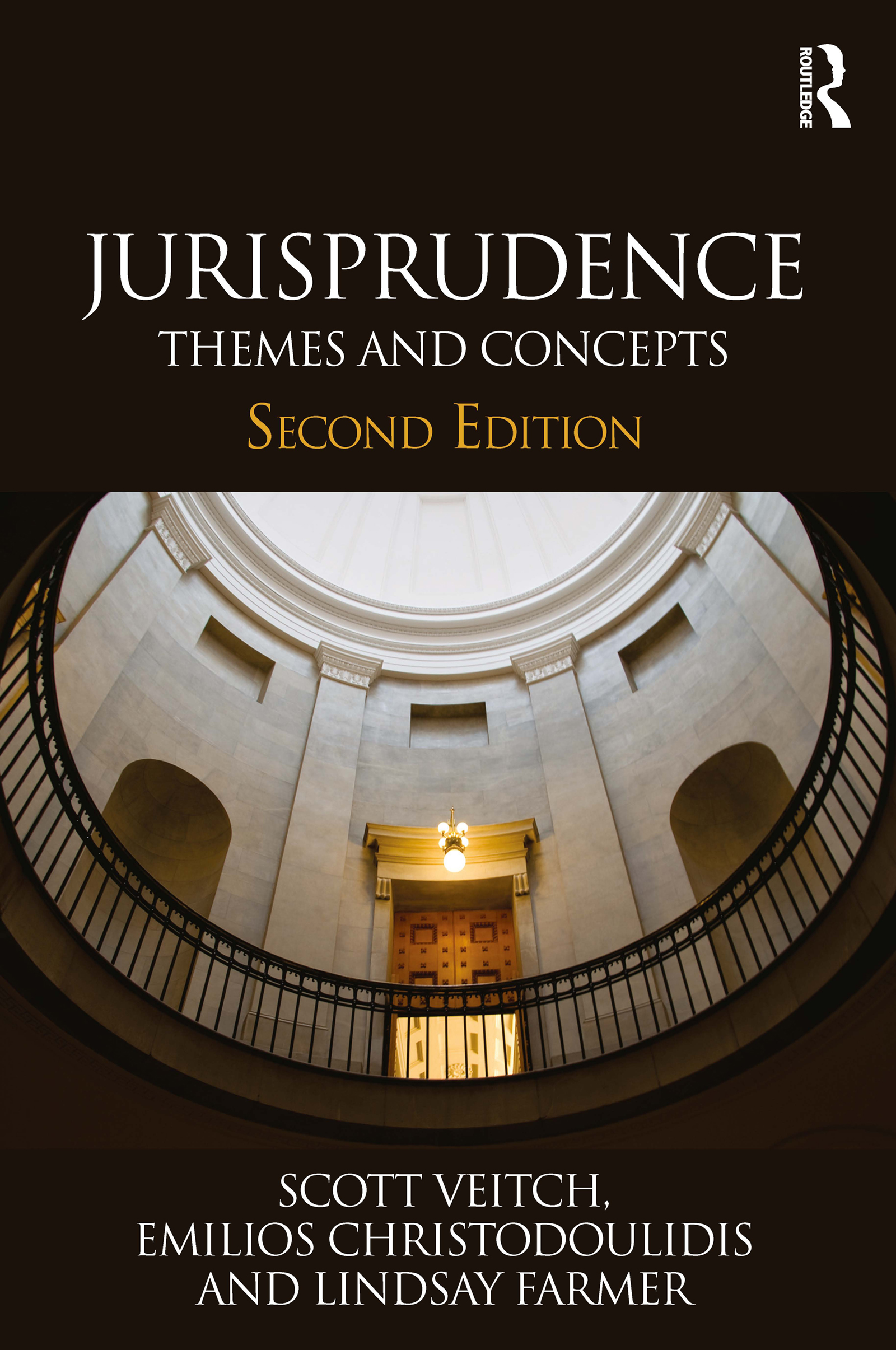Jurisprudence: Themes and Concepts, 2nd Edition (Paperback) book cover