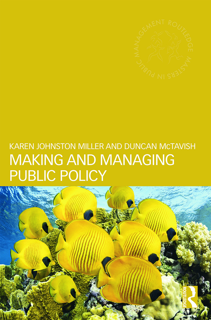 Making and Managing Public Policy book cover