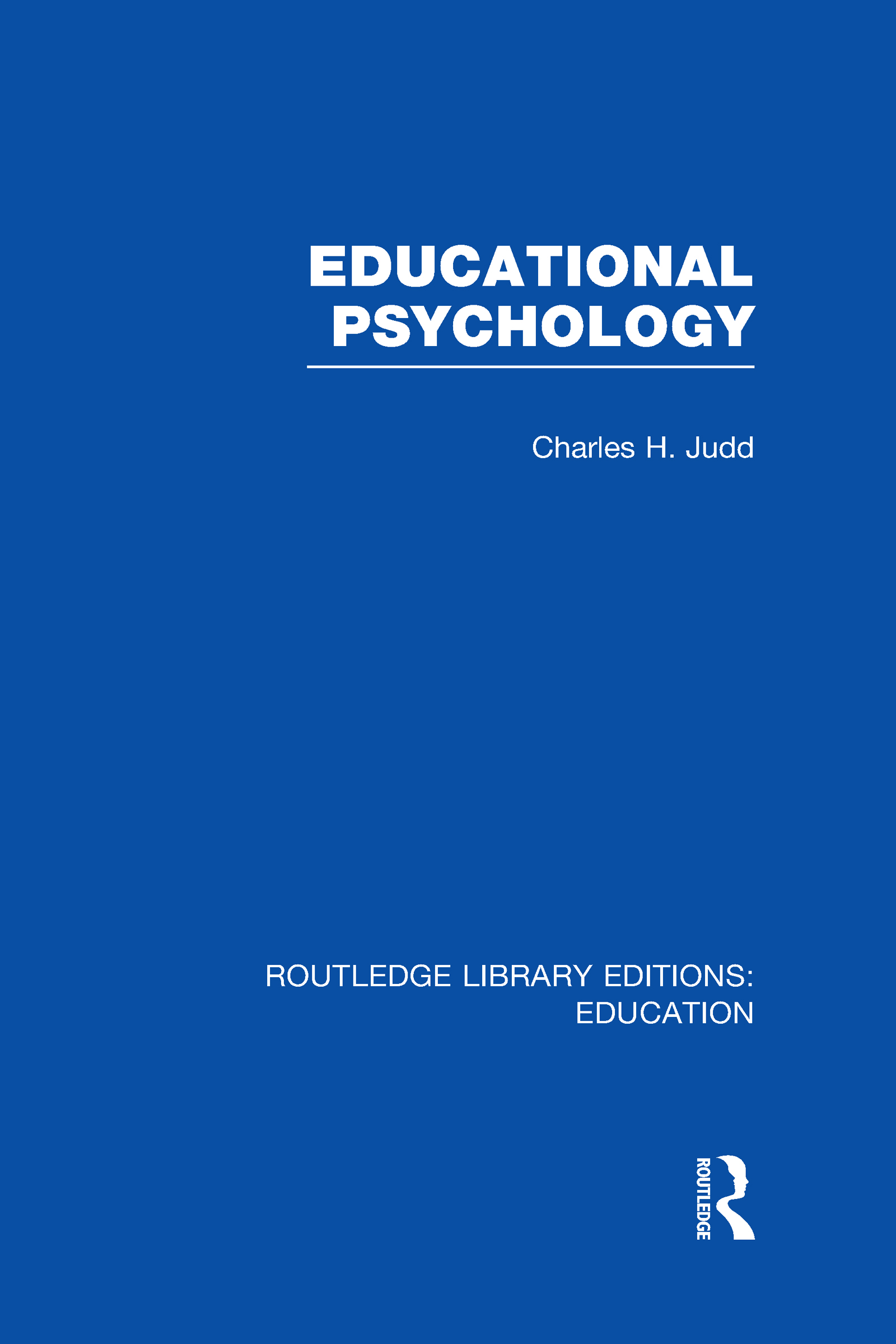 Educational Psychology (Hardback) book cover