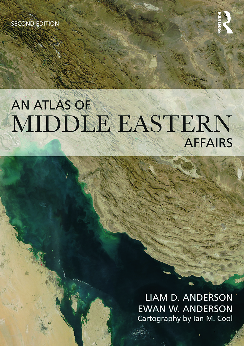 An Atlas of Middle Eastern Affairs: 2nd Edition (Paperback) book cover
