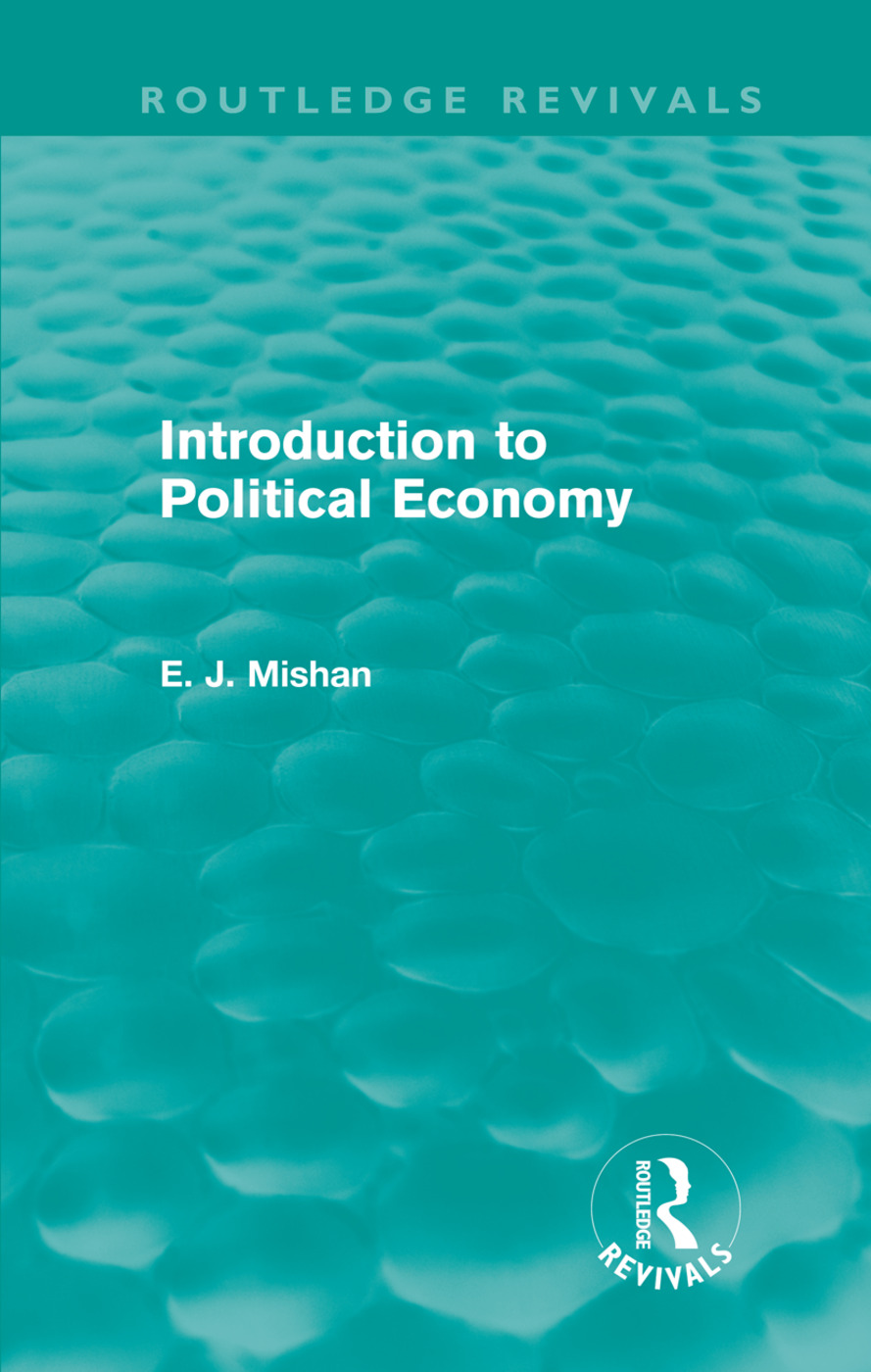 Introduction to Political Economy (Routledge Revivals) (Hardback) book cover