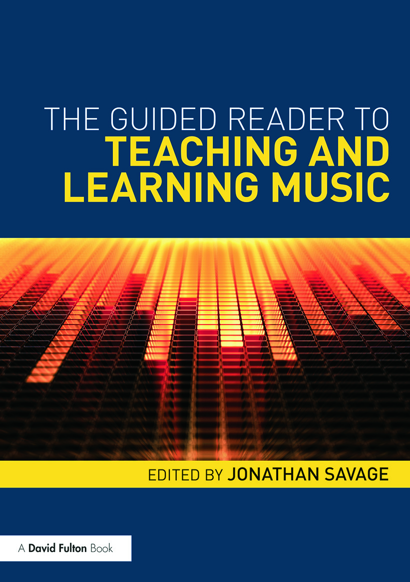 The Guided Reader to Teaching and Learning Music (Paperback) book cover