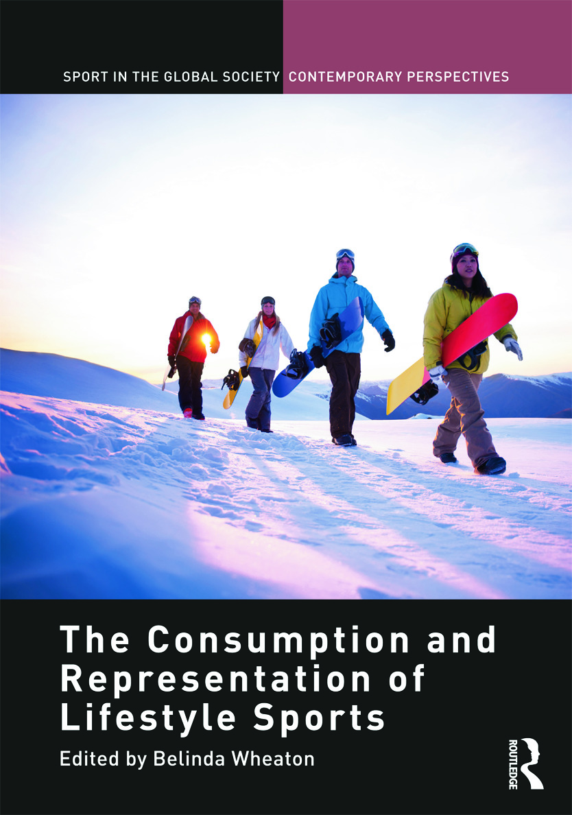 The Consumption and Representation of Lifestyle Sports: 1st Edition (Hardback) book cover