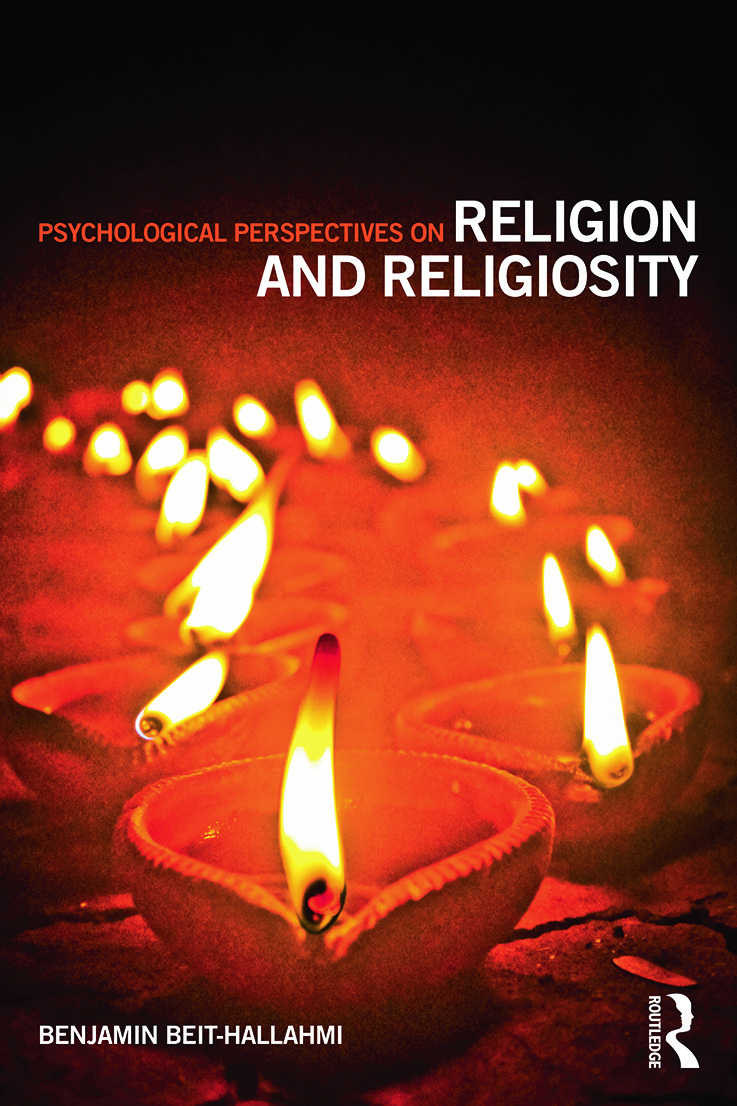 Psychological Perspectives on Religion and Religiosity (Paperback) book cover
