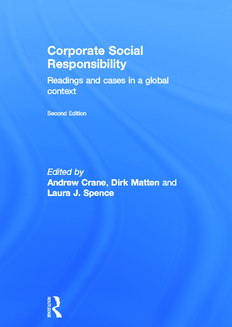 Corporate Social Responsibility: Readings and Cases in a Global Context book cover