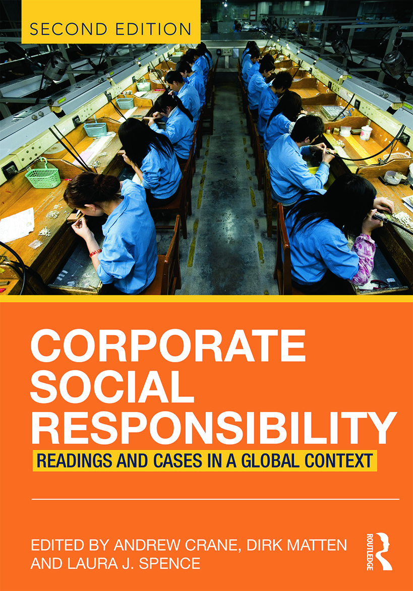 Corporate Social Responsibility: Readings and Cases in a Global Context, 2nd Edition (Paperback) book cover