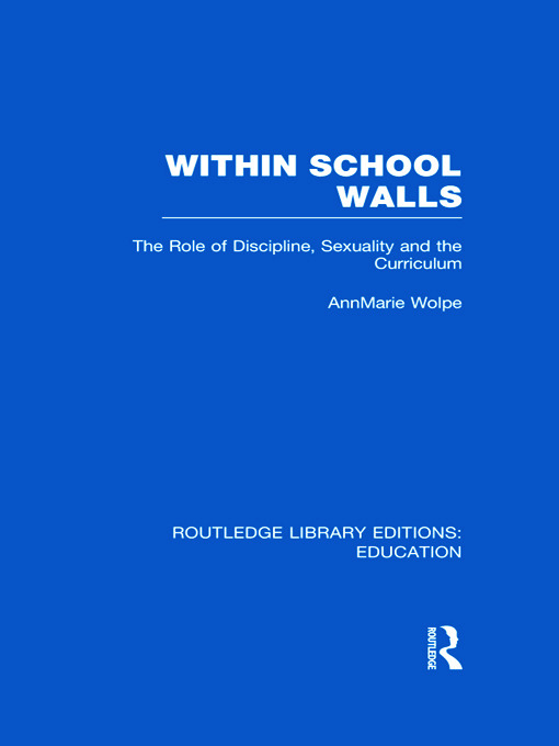 Within School Walls (Hardback) book cover