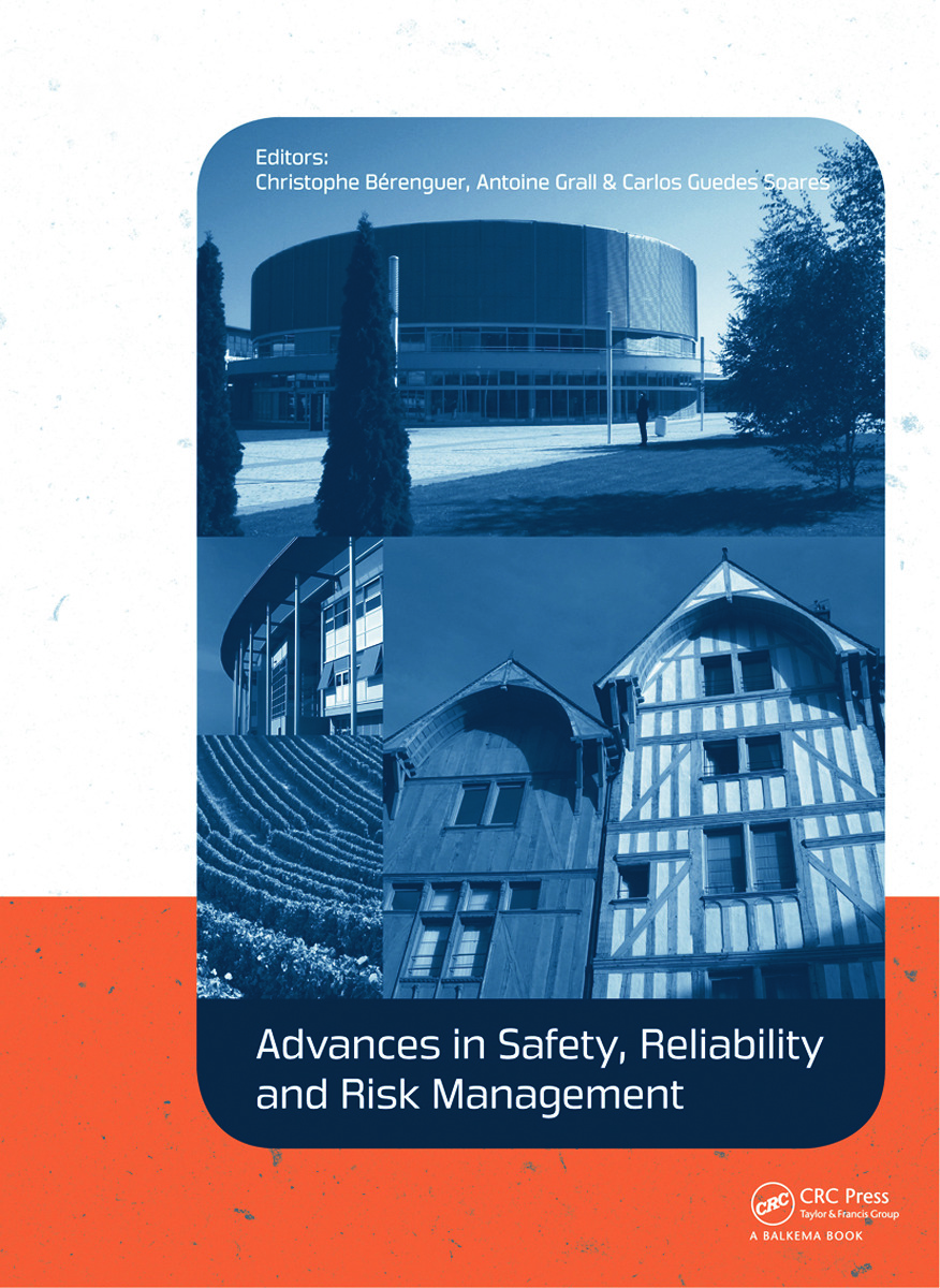 Advances in Safety, Reliability and Risk Management: ESREL 2011, 1st Edition (Hardback) book cover