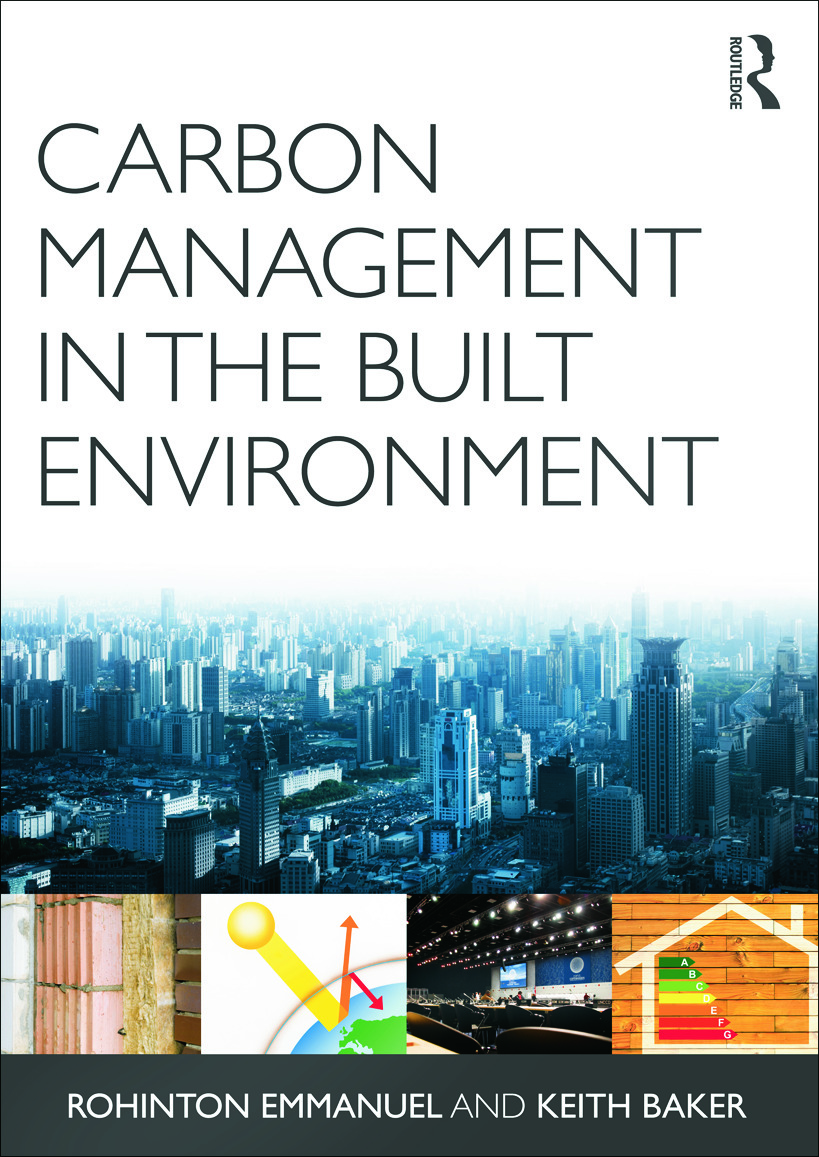 Carbon Management in the Built Environment: 1st Edition (Paperback) book cover