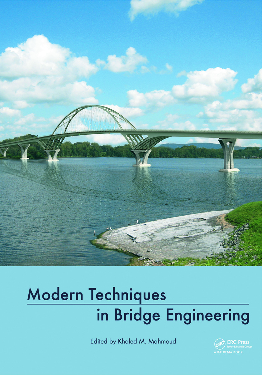 Modern Techniques in Bridge Engineering: Proceedings of 6th New York City Bridge Conference, 25-26 July 2011, 1st Edition (Hardback) book cover