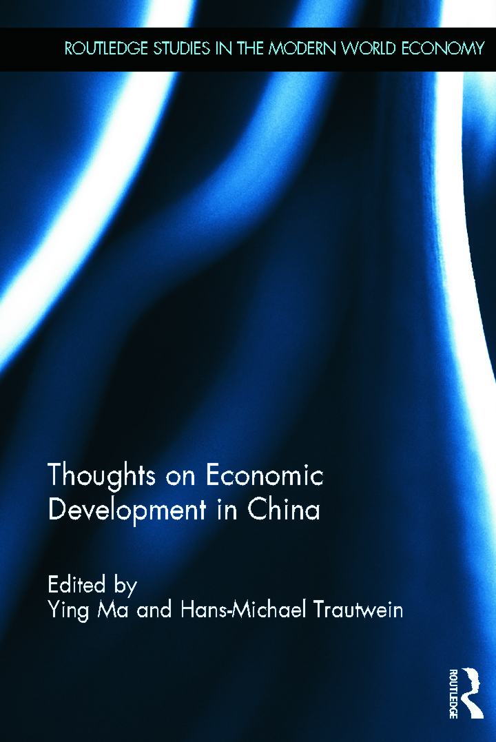 Thoughts on Economic Development in China (Hardback) book cover
