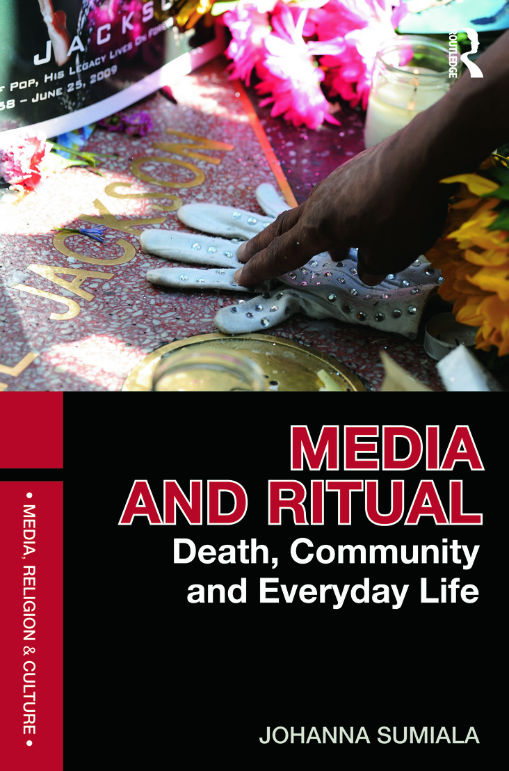 Media and Ritual: Death, Community and Everyday Life (Paperback) book cover