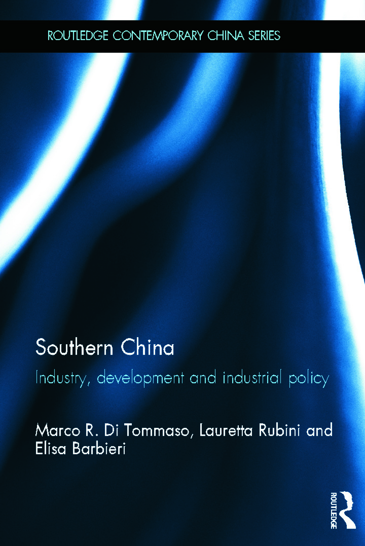 Southern China: Industry, Development and Industrial Policy (Hardback) book cover