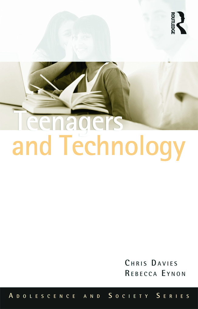 Teenagers and Technology (Paperback) book cover