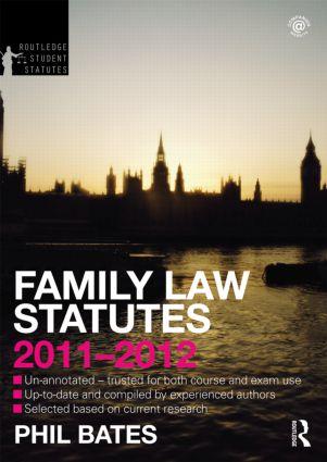 Family Law Statutes 2011-2012