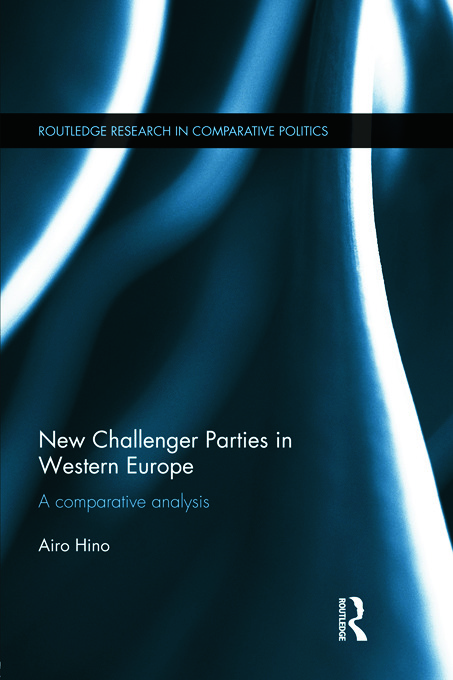 New Challenger Parties in Western Europe: A Comparative Analysis (Hardback) book cover
