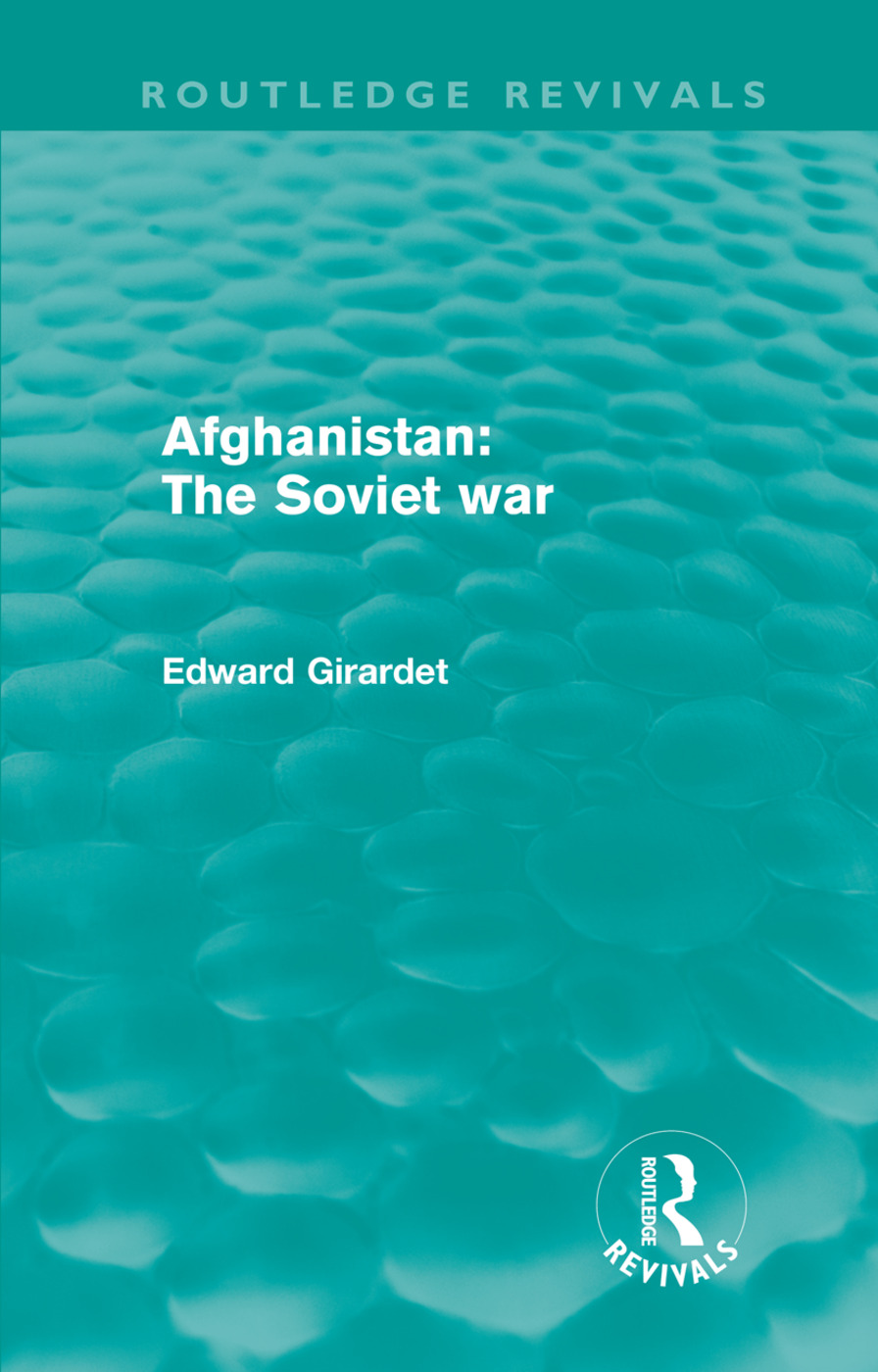 Afghanistan: The Soviet War (Hardback) book cover