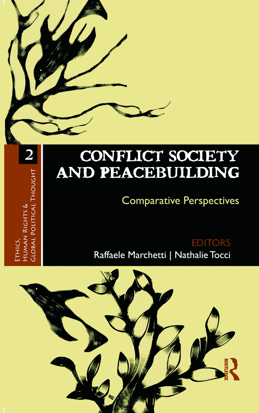 Conflict Society and Peacebuilding: Comparative Perspectives (Hardback) book cover