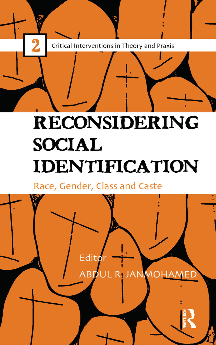Reconsidering Social Identification: Race, Gender, Class and Caste (Hardback) book cover
