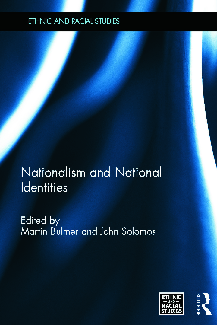 Nationalism and National Identities (Hardback) book cover