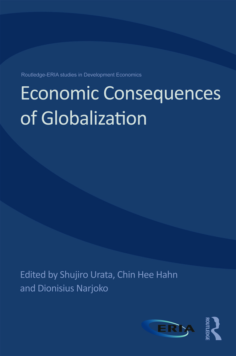 Economic Consequences of Globalization: Evidence from East Asia (Hardback) book cover