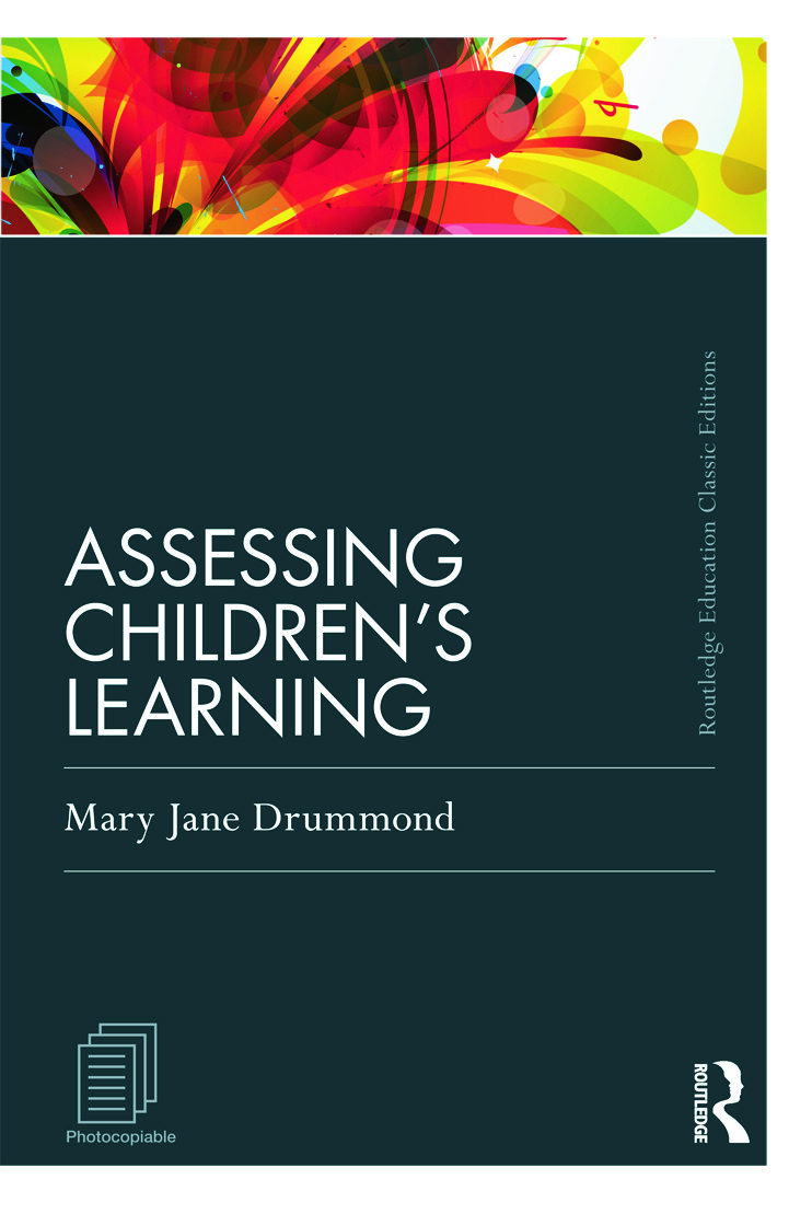 Assessing Children's Learning (Classic Edition) book cover
