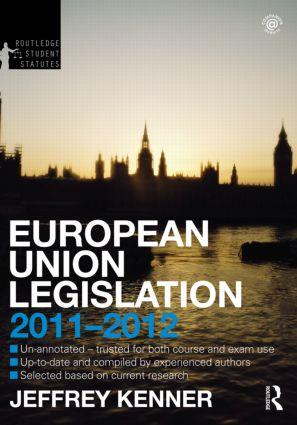 European Union Legislation 2011-2012