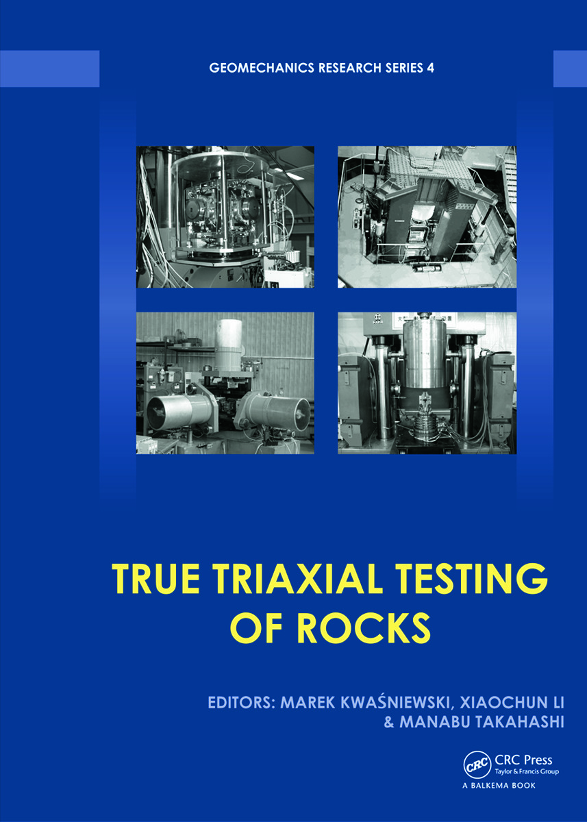 True Triaxial Testing of Rocks (Hardback) book cover