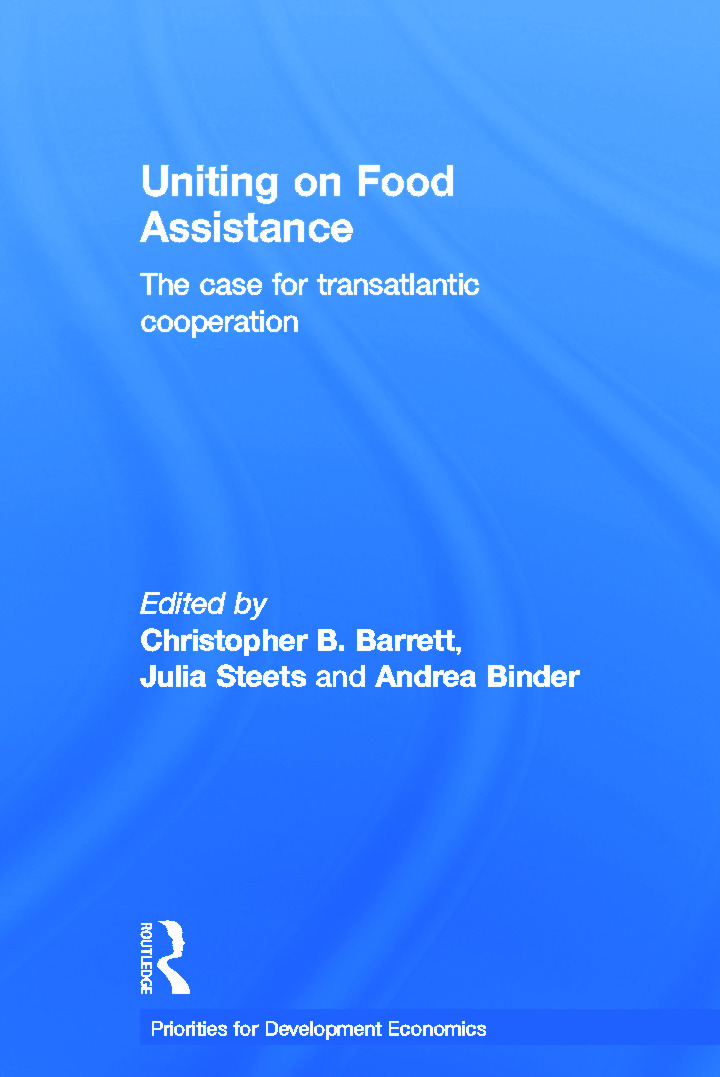 Uniting on Food Assistance: The Case for Transatlantic Cooperation book cover