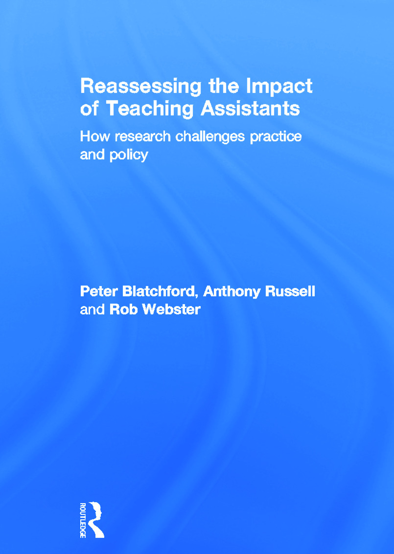 Reassessing the Impact of Teaching Assistants: How research challenges practice and policy, 1st Edition (Hardback) book cover